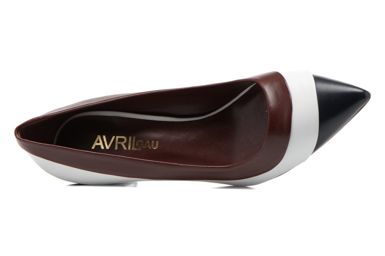 Escarpins Avril Gau Mironda Multicolore vue gauche
