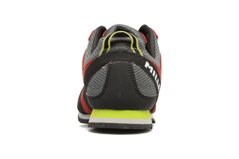 Zapatillas de deporte Millet Rockway Rojo vista lateral derecha