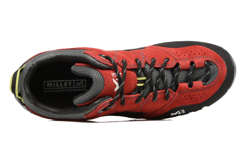 Zapatillas de deporte Millet Rockway Rojo vista lateral izquierda