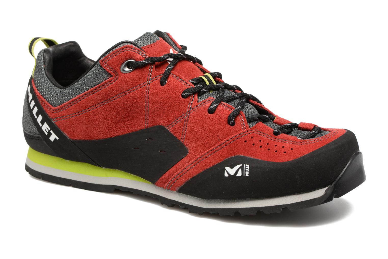 Zapatillas de deporte Millet Rockway Rojo vista de detalle / par