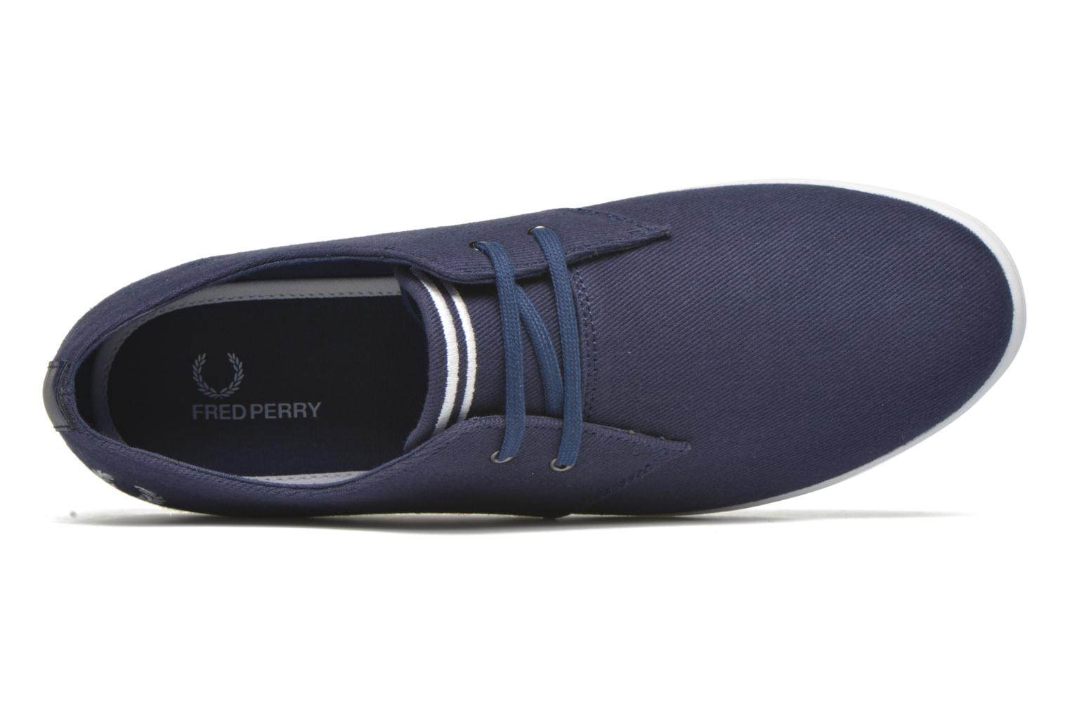 Navy Fred Perry Byron Low Twill (Bleu)