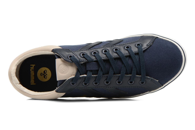Baskets Hummel Deuce Court Premium Bleu vue gauche