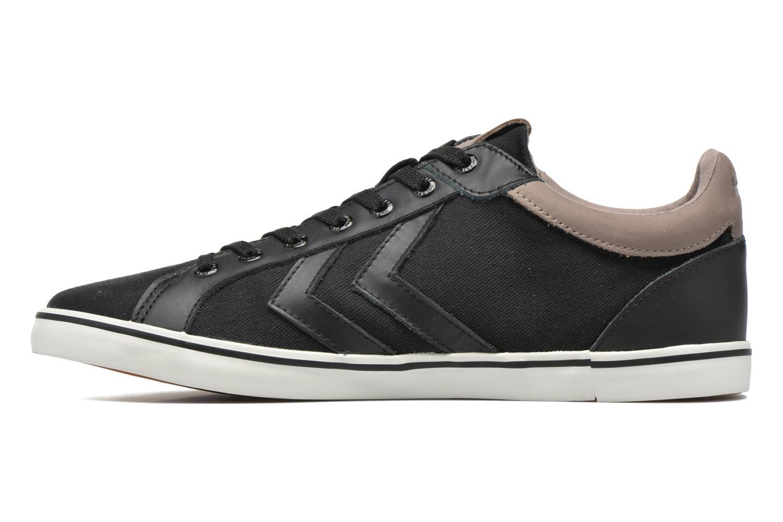 Sneaker Hummel Deuce Court Premium schwarz ansicht von vorne