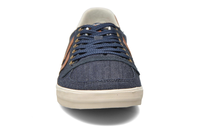 Sneaker Hummel Ten Star Denim Lo blau schuhe getragen