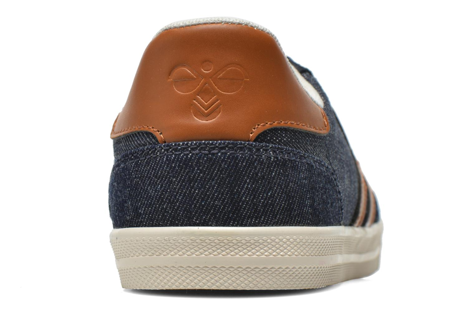 Baskets Hummel Ten Star Denim Lo Bleu vue droite