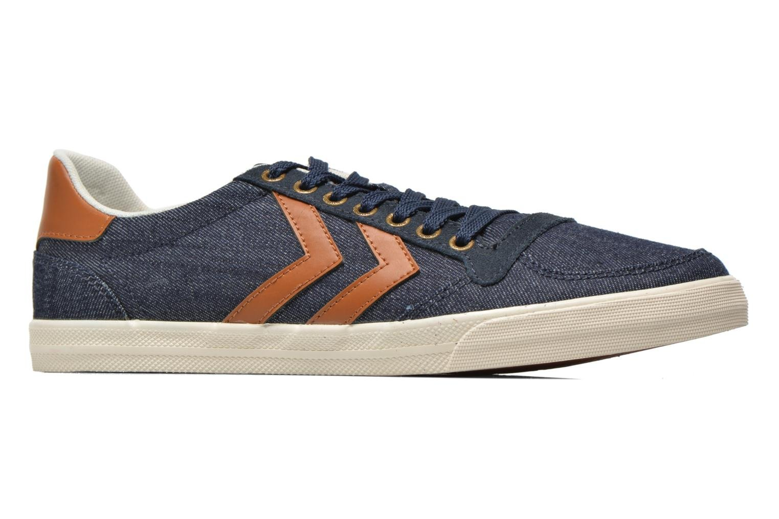 Baskets Hummel Ten Star Denim Lo Bleu vue derrière