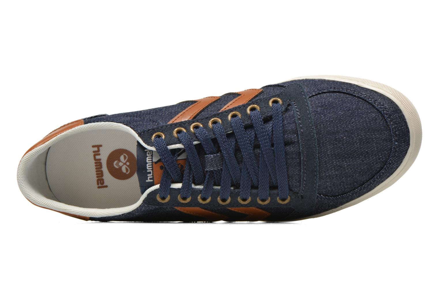 Baskets Hummel Ten Star Denim Lo Bleu vue gauche