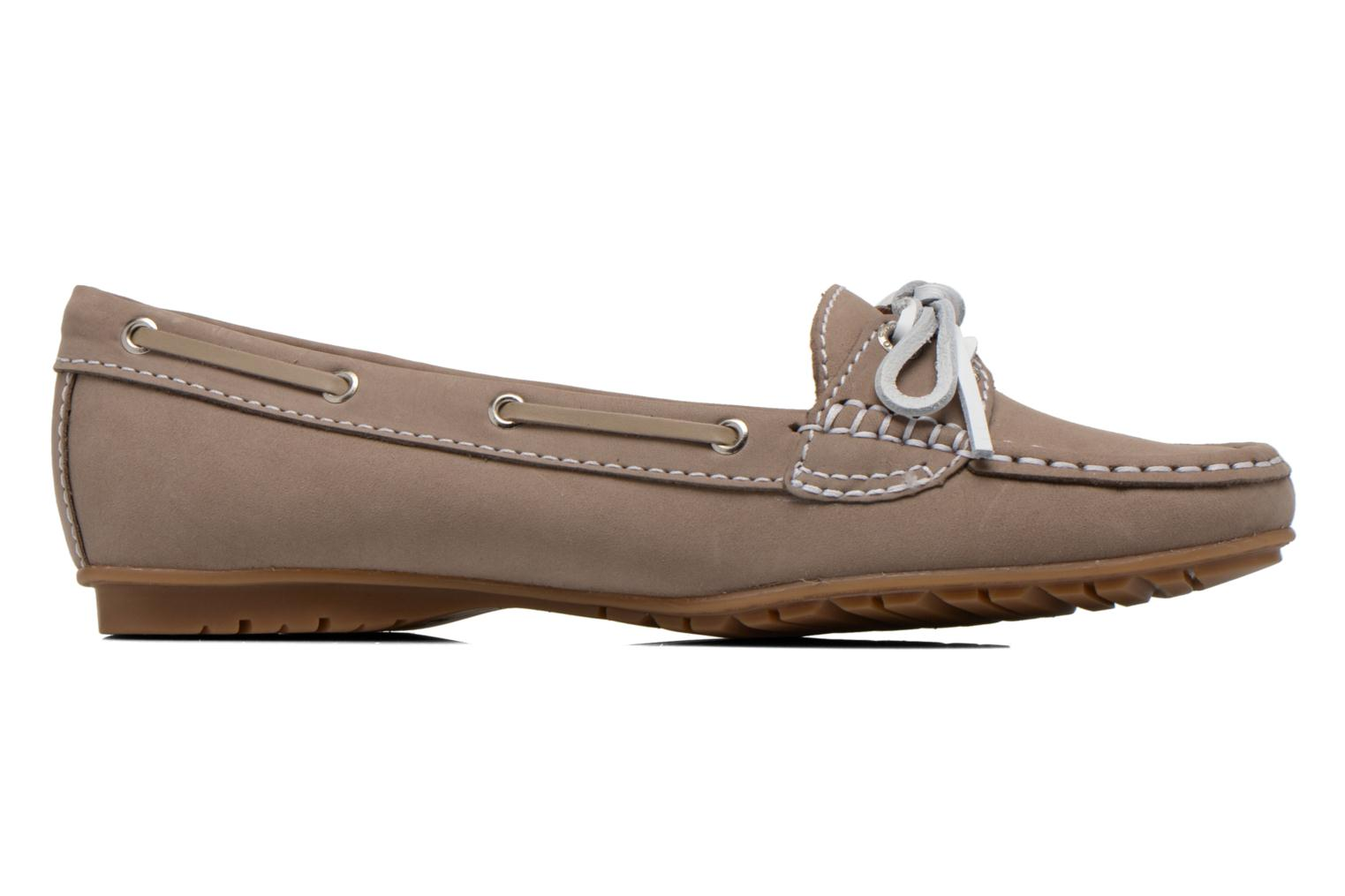 Loafers Sebago Meriden Two eye Beige back view