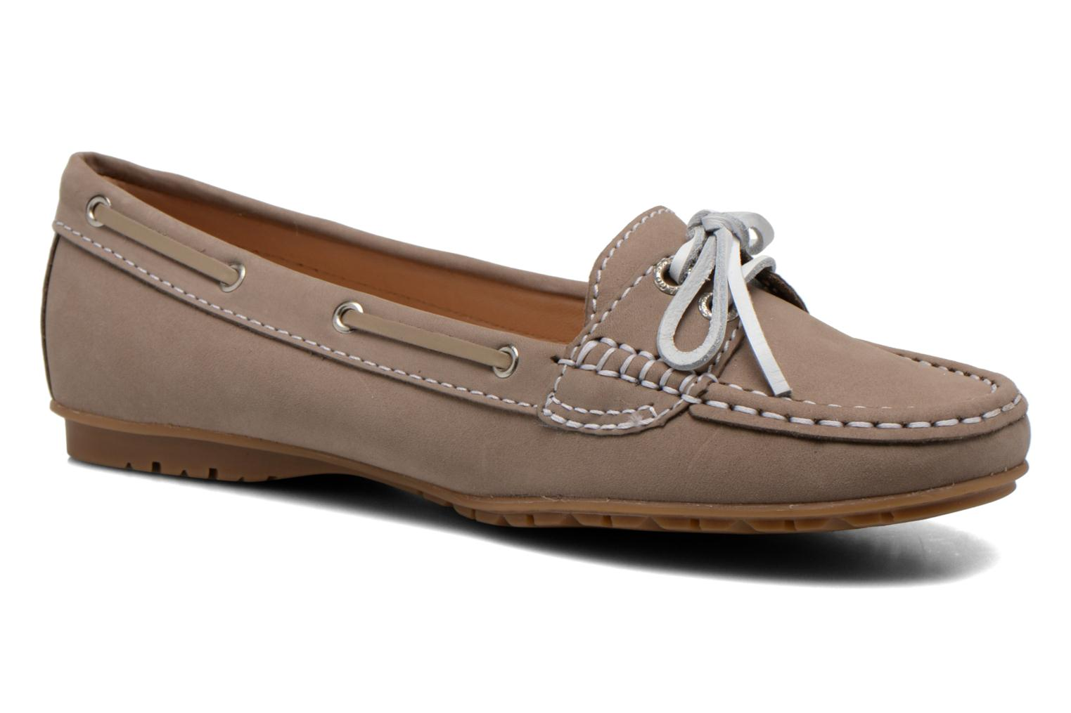 Loafers Sebago Meriden Two eye Beige detailed view/ Pair view