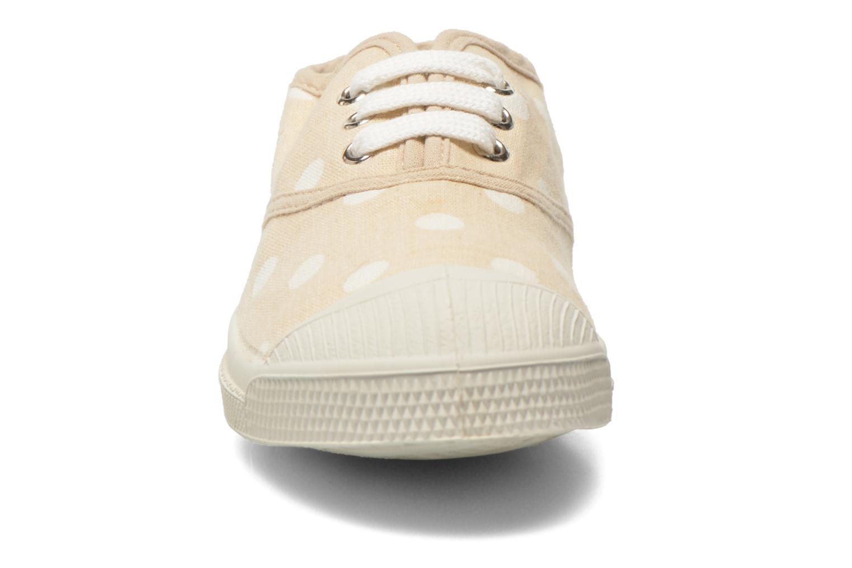 Sneaker Bensimon Tennis Lacets Pastel Pastilles E beige schuhe getragen