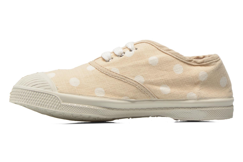 Sneaker Bensimon Tennis Lacets Pastel Pastilles E beige ansicht von vorne