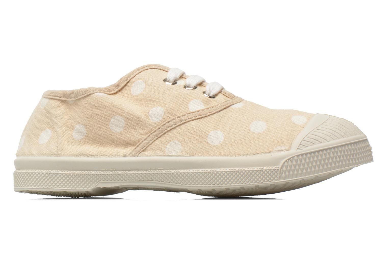 Sneaker Bensimon Tennis Lacets Pastel Pastilles E beige ansicht von hinten