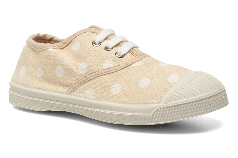 Sneaker Bensimon Tennis Lacets Pastel Pastilles E beige detaillierte ansicht/modell