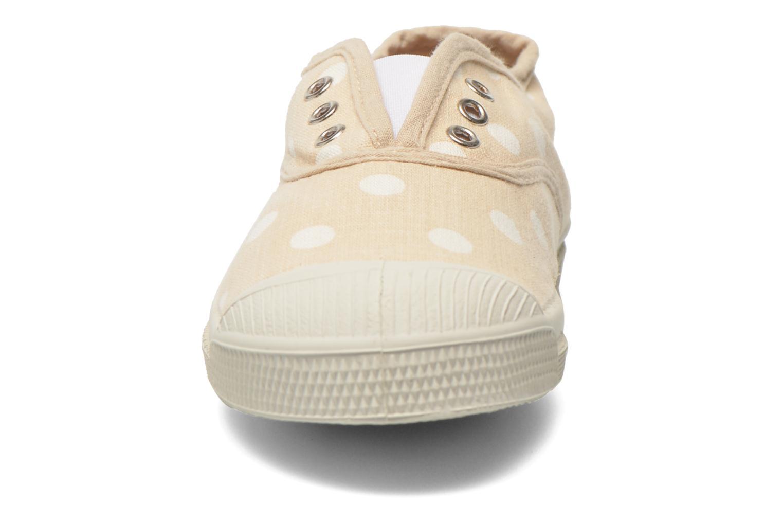 Baskets Bensimon Tennis Elly Pastel Pastilles E Beige vue portées chaussures