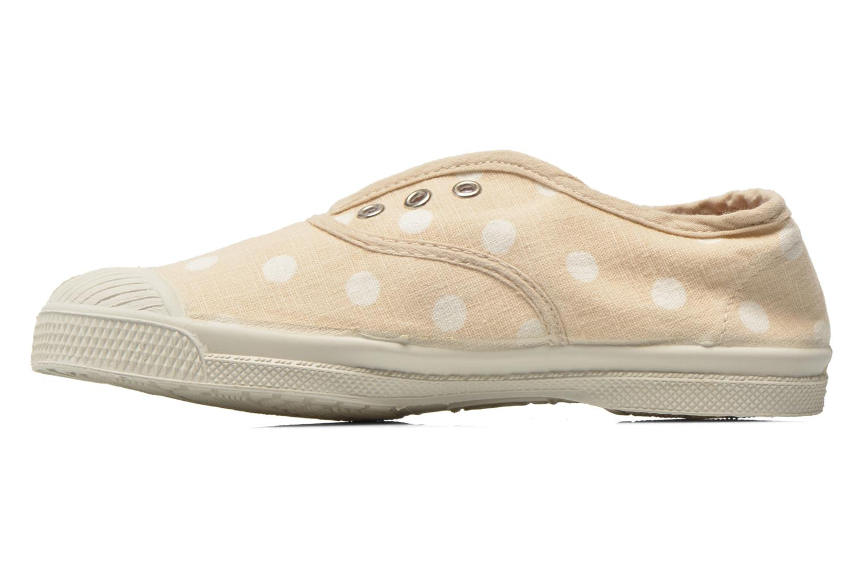 Sneaker Bensimon Tennis Elly Pastel Pastilles E beige ansicht von vorne