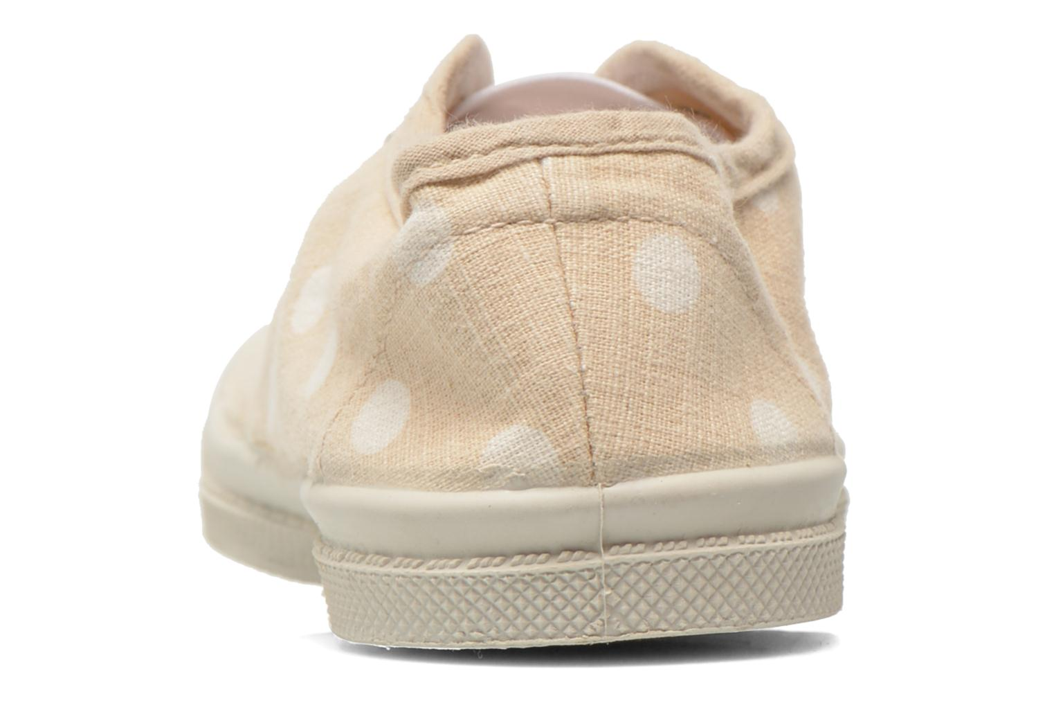Trainers Bensimon Tennis Elly Pastel Pastilles E Beige view from the right