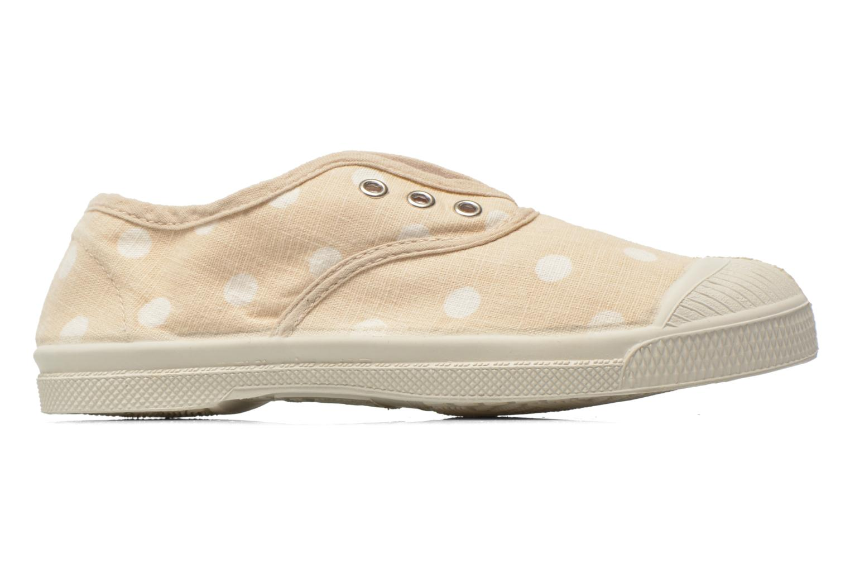 Sneaker Bensimon Tennis Elly Pastel Pastilles E beige ansicht von hinten