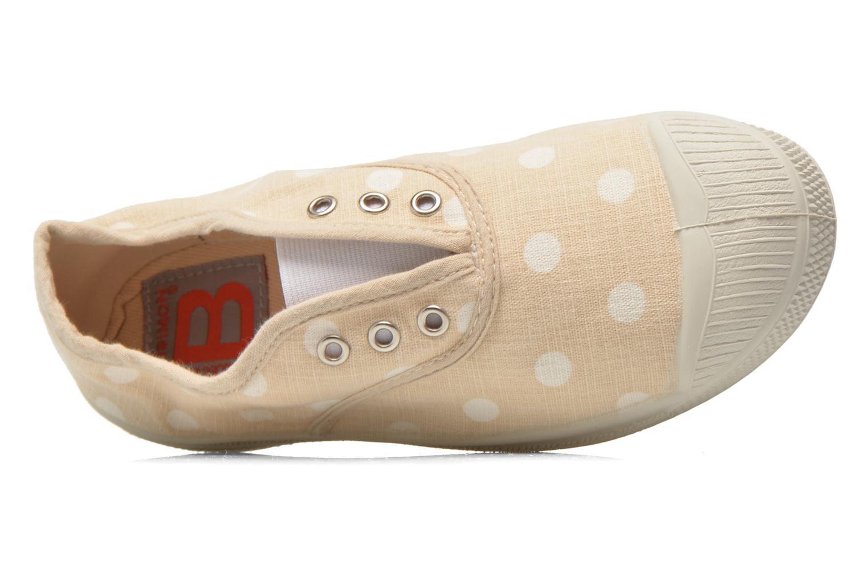 Sneaker Bensimon Tennis Elly Pastel Pastilles E beige ansicht von links