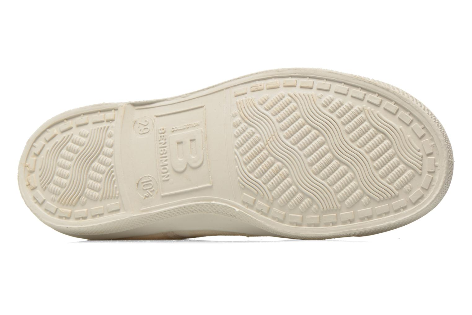 Trainers Bensimon Tennis Elly Pastel Pastilles E Beige view from above