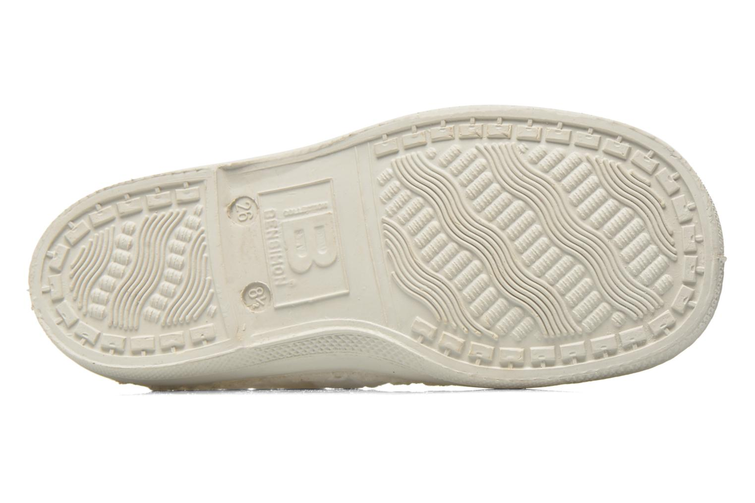 Trainers Bensimon Tennis Elly Broderie Anglaise E White view from above