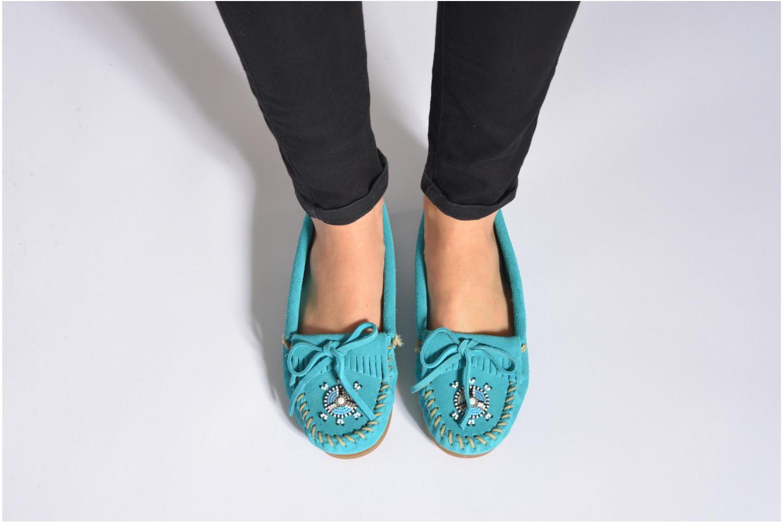 Grandes descuentos últimos zapatos Minnetonka Me to We moc (Marrón) - Mocasines Descuento