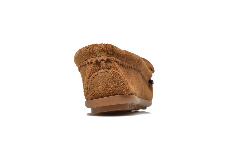 Loafers Minnetonka Me to We moc Brun Bild från höger sidan