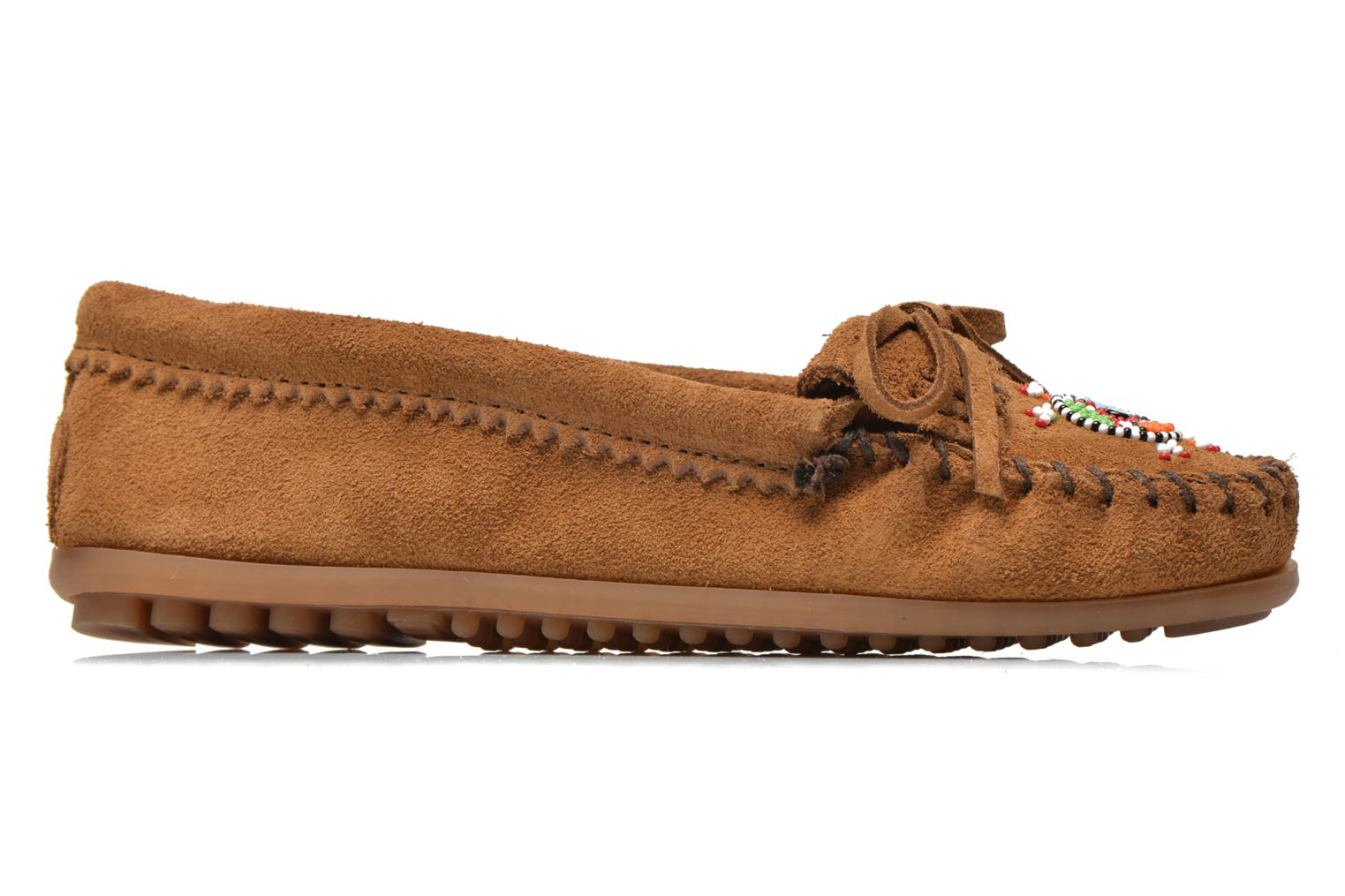 Loafers Minnetonka Me to We moc Brown back view