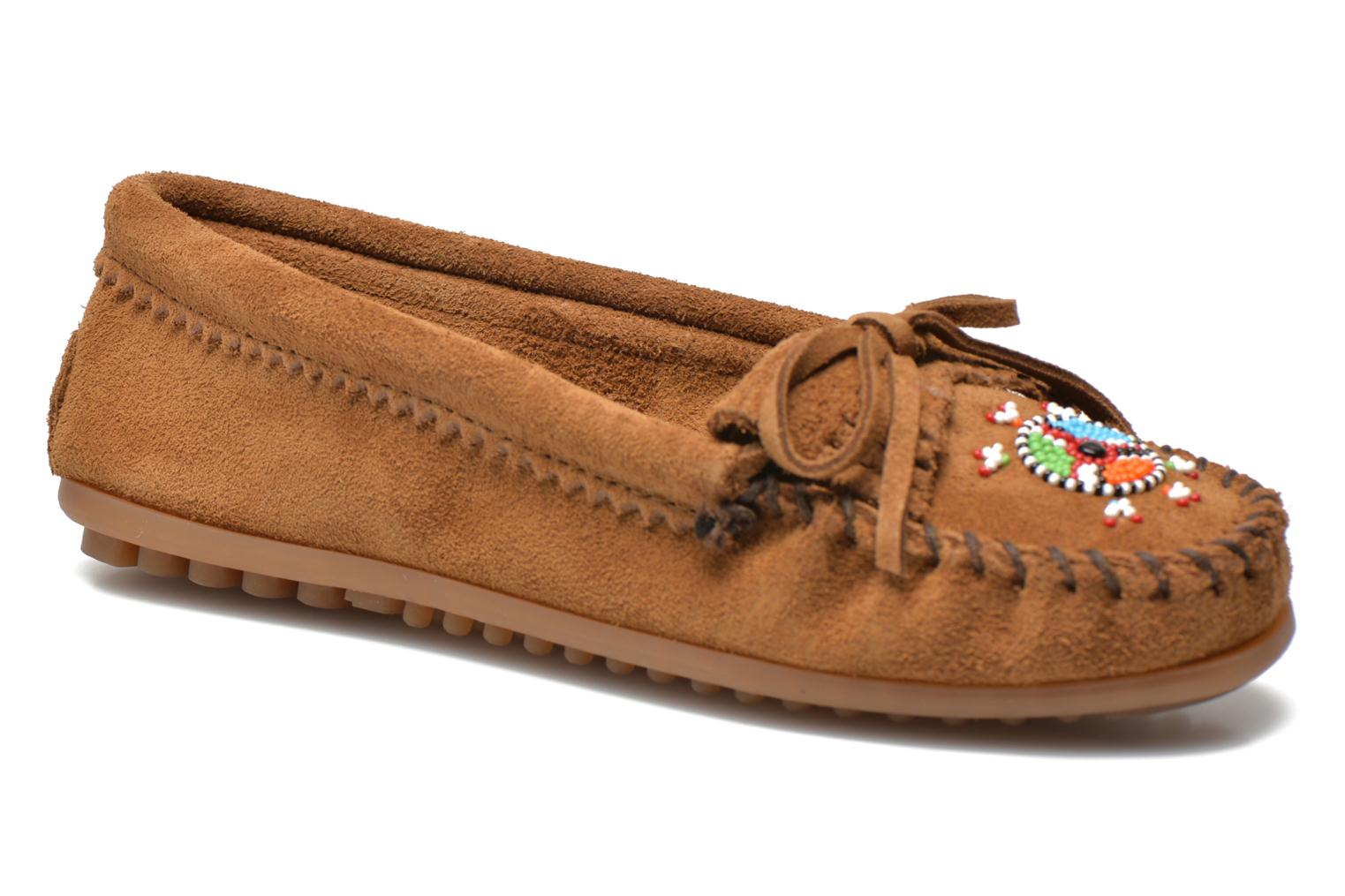 Loafers Minnetonka Me to We moc Brown detailed view/ Pair view