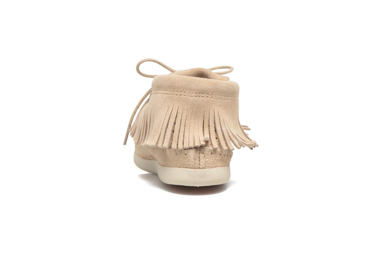 Boots en enkellaarsjes Minnetonka Venice Perf Grijs rechts
