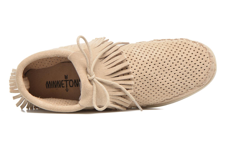 Boots en enkellaarsjes Minnetonka Venice Perf Grijs links