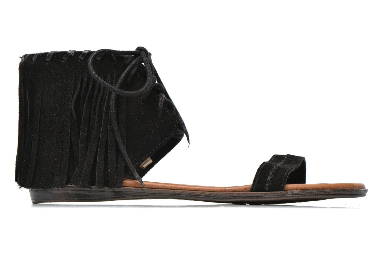Sandales et nu-pieds Minnetonka Havana Noir vue derrière