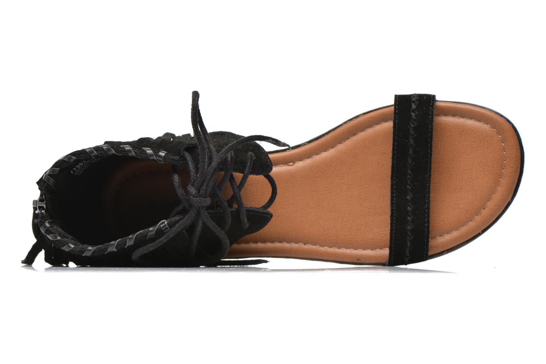 Sandales et nu-pieds Minnetonka Havana Noir vue gauche