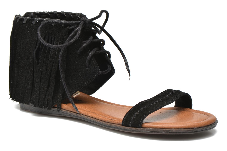 Sandales et nu-pieds Minnetonka Havana Noir vue détail/paire