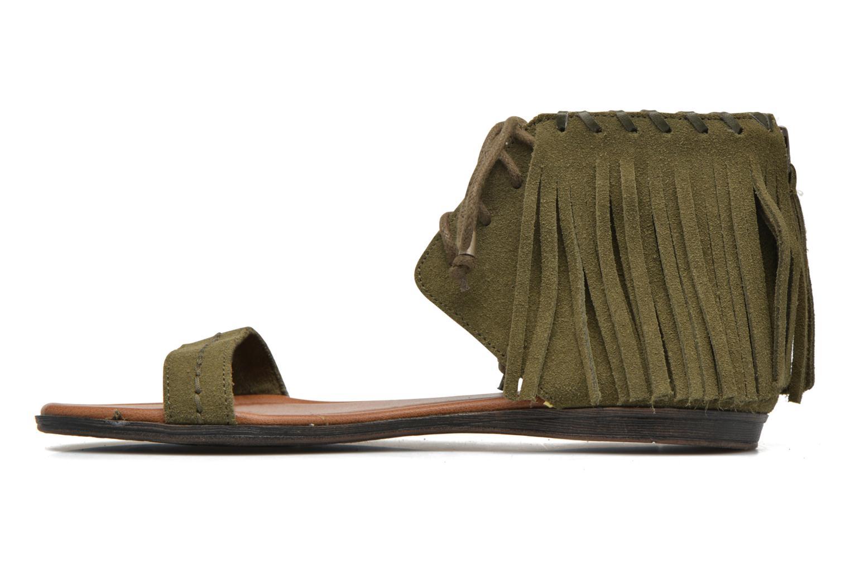 Sandales et nu-pieds Minnetonka Havana Vert vue face