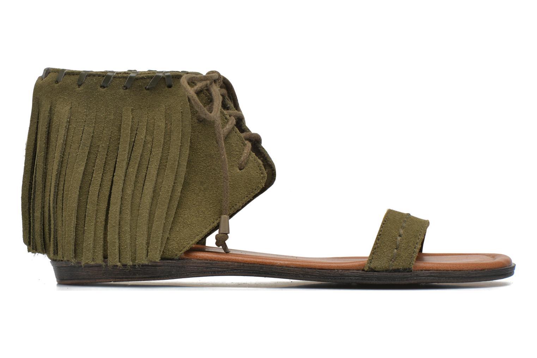 Sandales et nu-pieds Minnetonka Havana Vert vue derrière