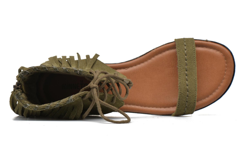 Sandales et nu-pieds Minnetonka Havana Vert vue gauche