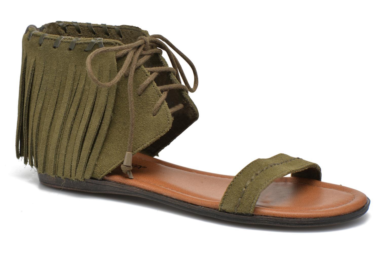Sandales et nu-pieds Minnetonka Havana Vert vue détail/paire