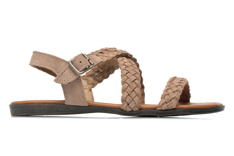 Sandales et nu-pieds Minnetonka Santorini Beige vue derrière