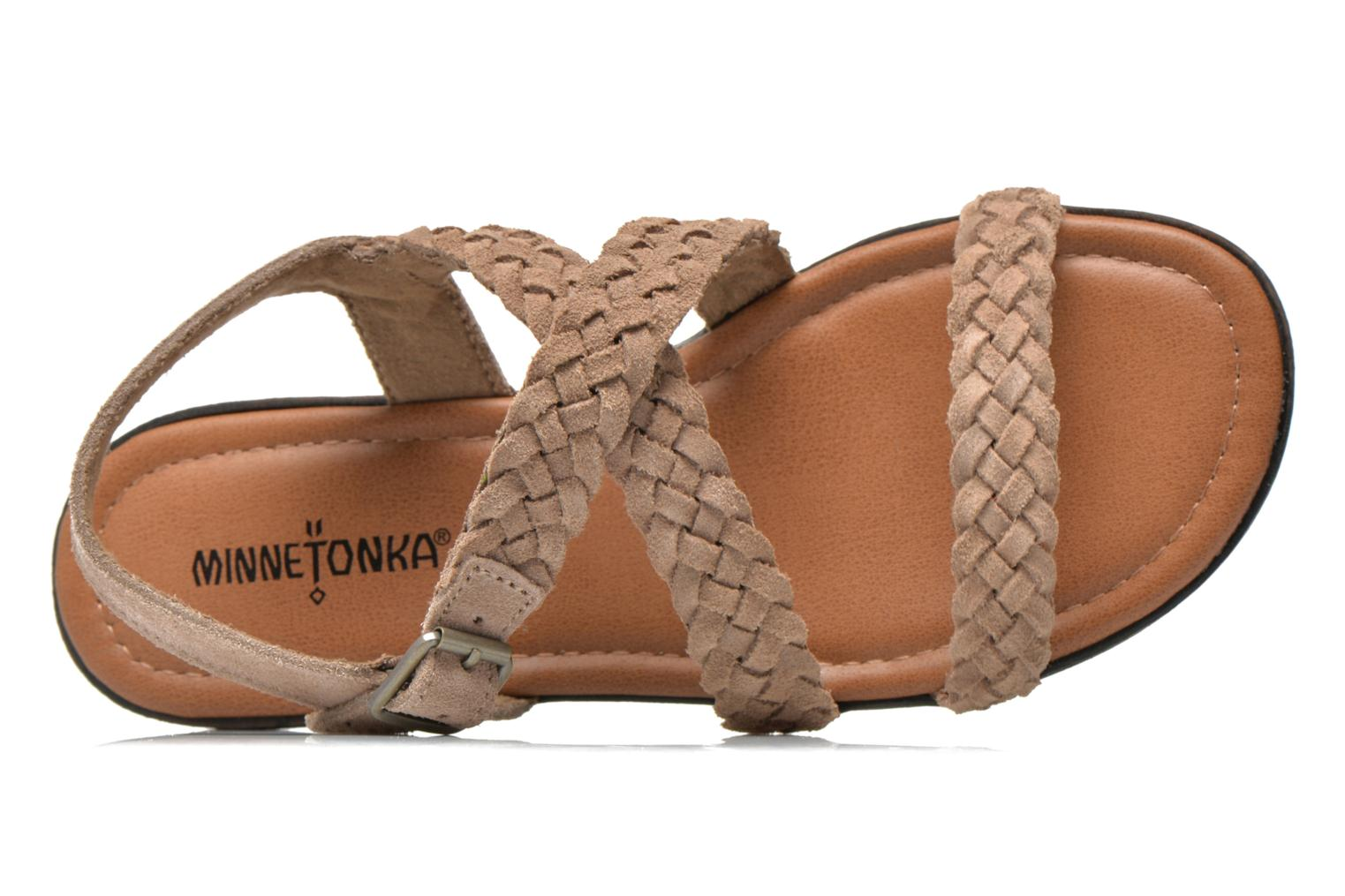 Sandals Minnetonka Santorini Beige view from the left
