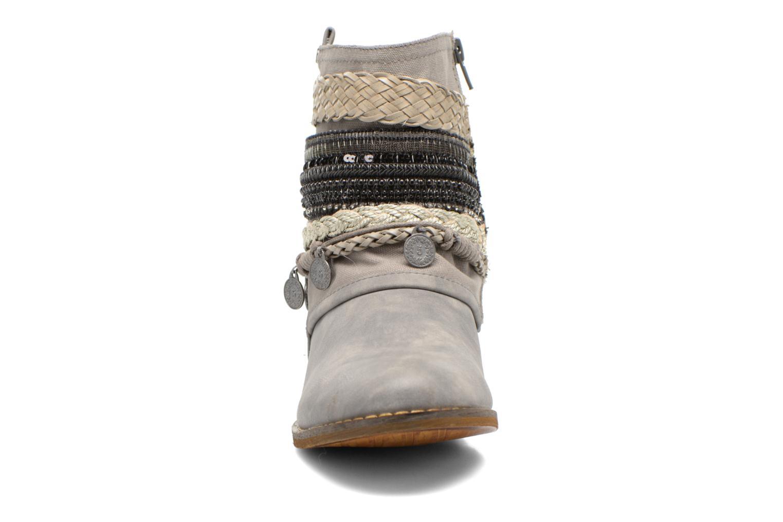 Bottines et boots Bullboxer Nadoco Gris vue portées chaussures