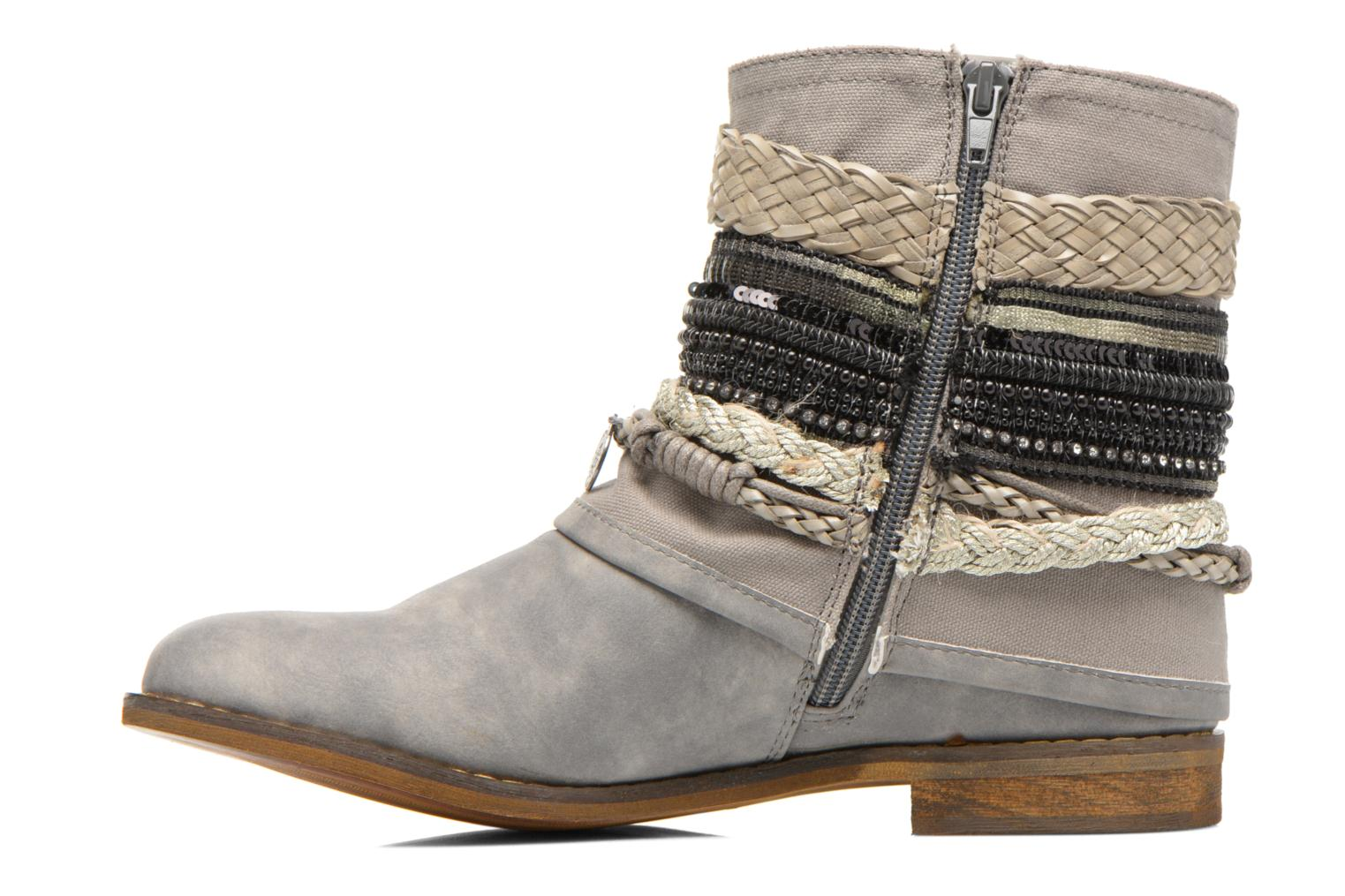 Ankle boots Bullboxer Nadoco Grey front view