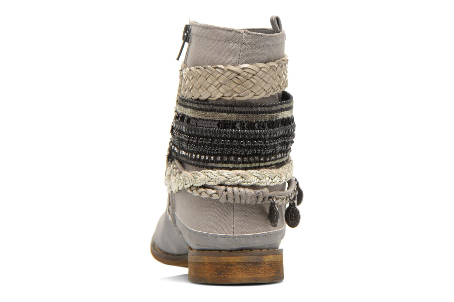 Ankle boots Bullboxer Nadoco Grey view from the right