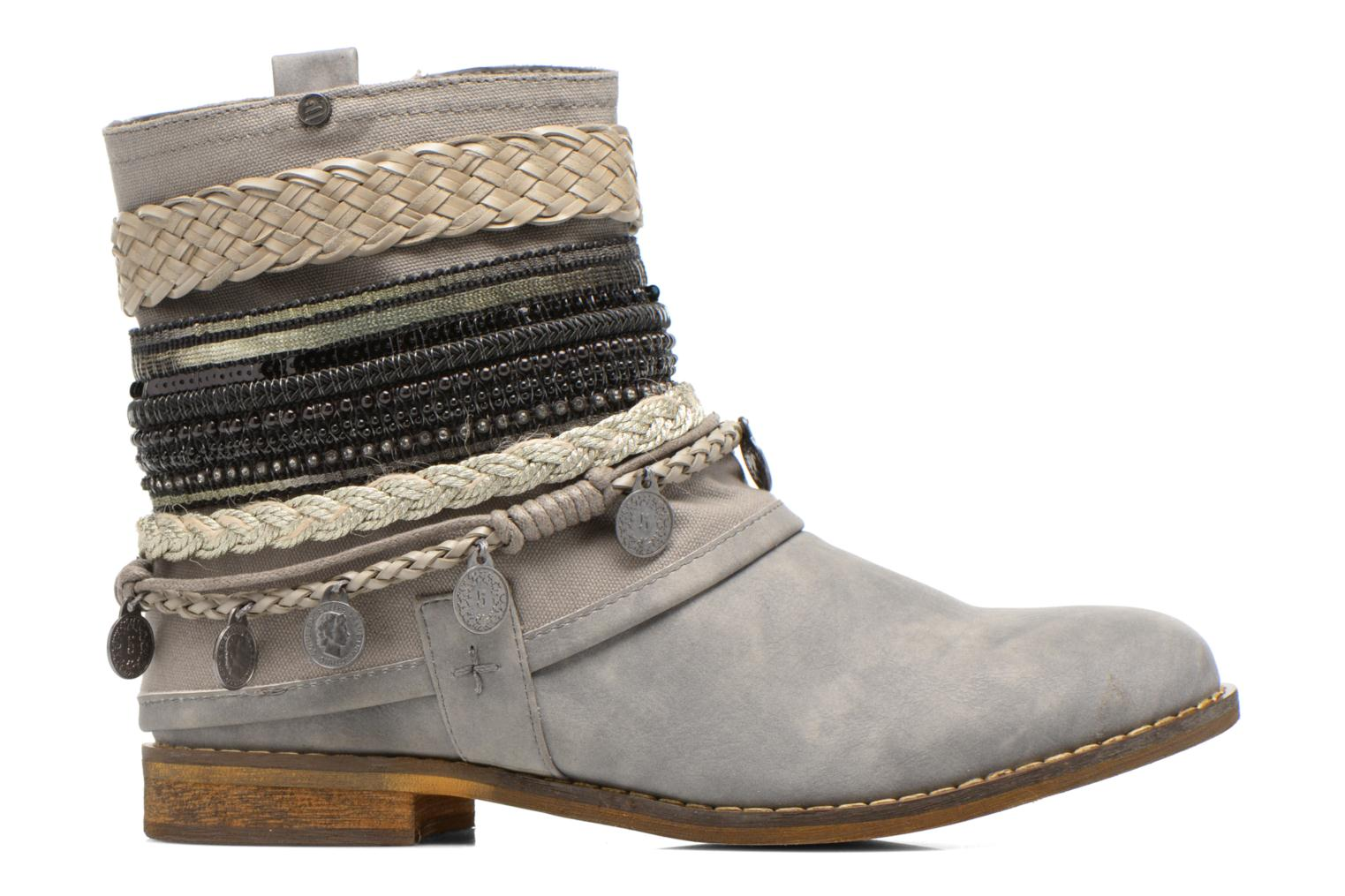 Ankle boots Bullboxer Nadoco Grey back view