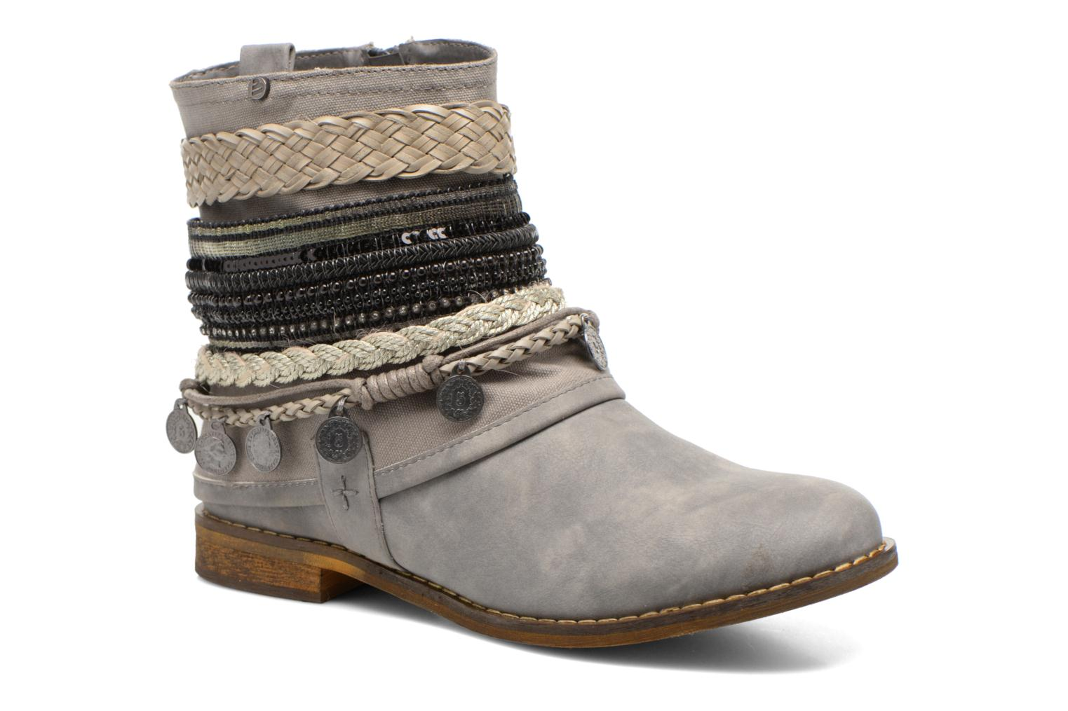 Ankle boots Bullboxer Nadoco Grey detailed view/ Pair view