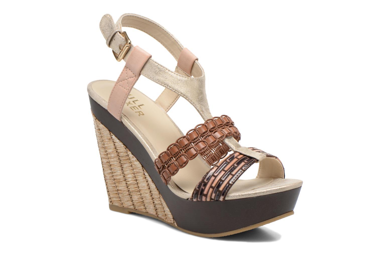 Sandales et nu-pieds Bullboxer Solario Multicolore vue détail/paire