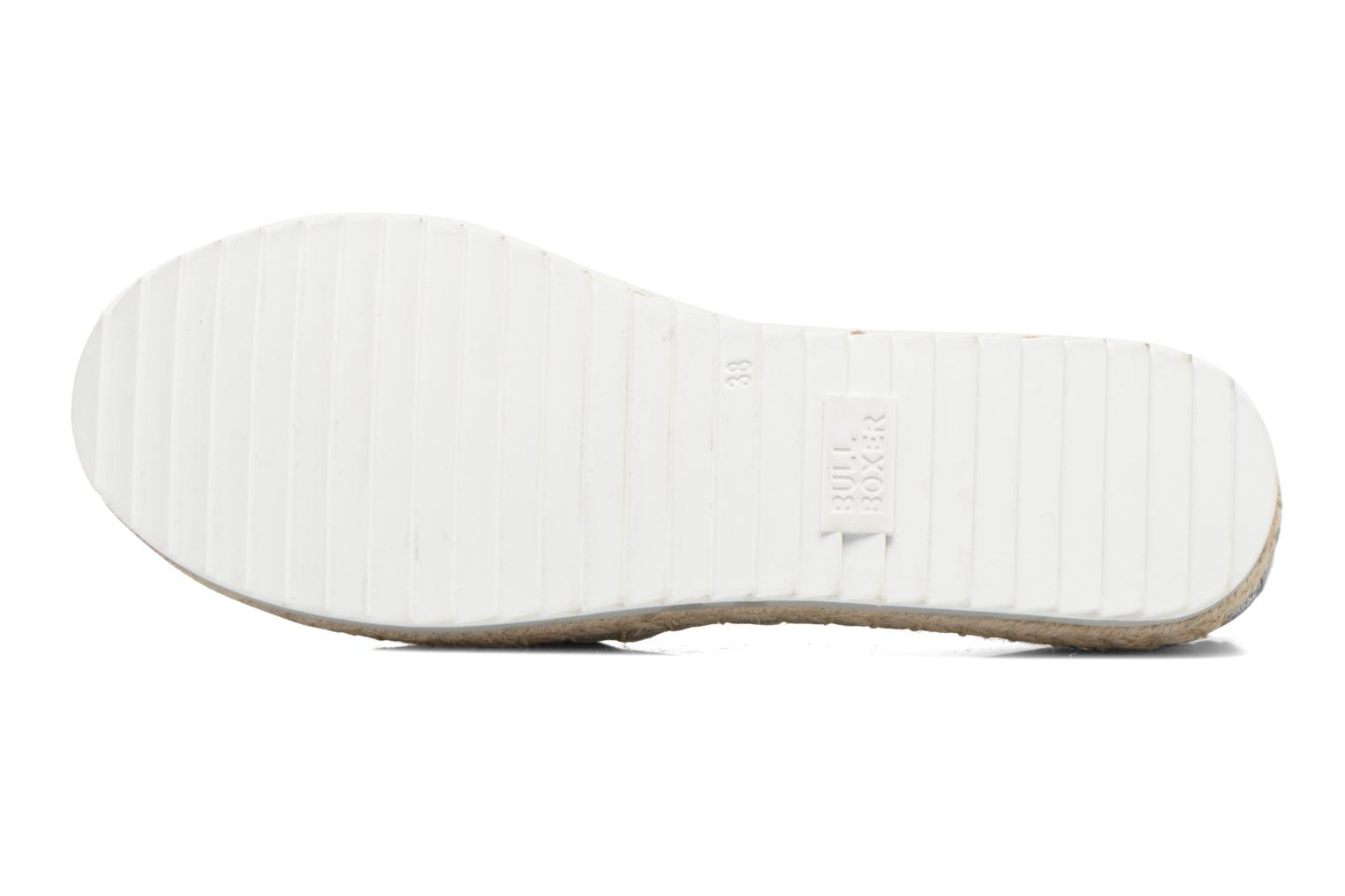 Espadrilles Bullboxer Fedumi Silver view from above