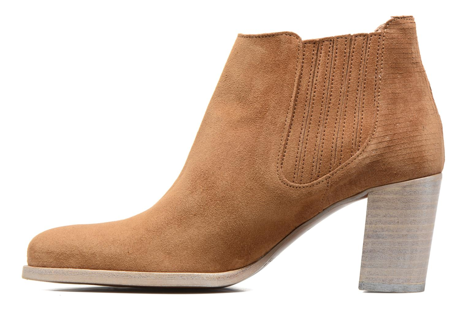 Ankle boots Muratti Bloody Brown front view