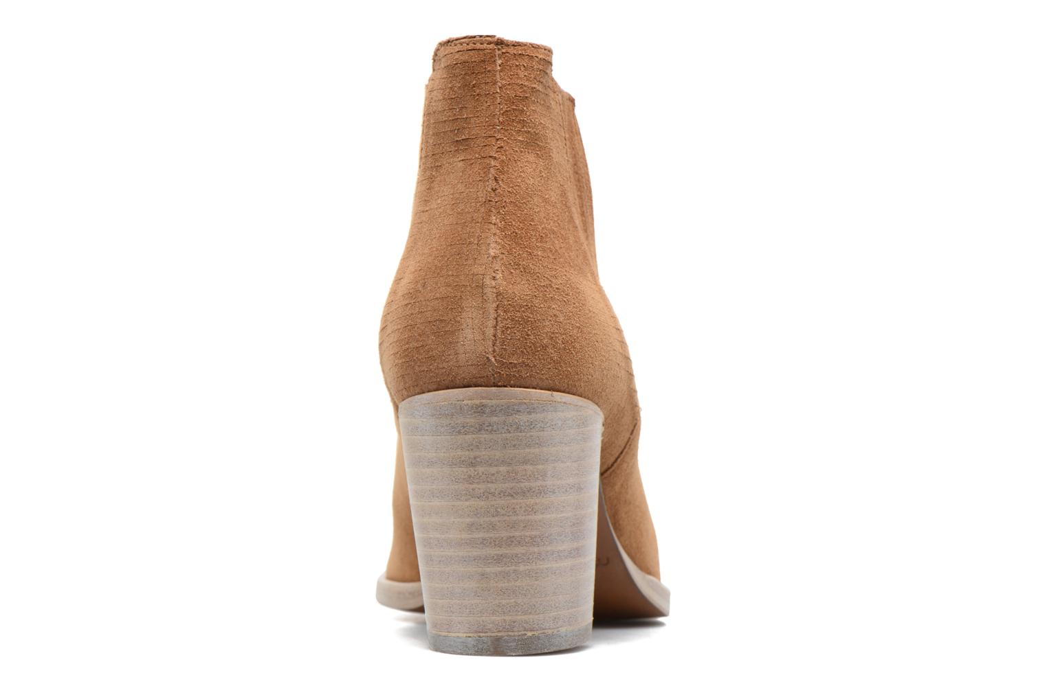 Ankle boots Muratti Bloody Brown view from the right