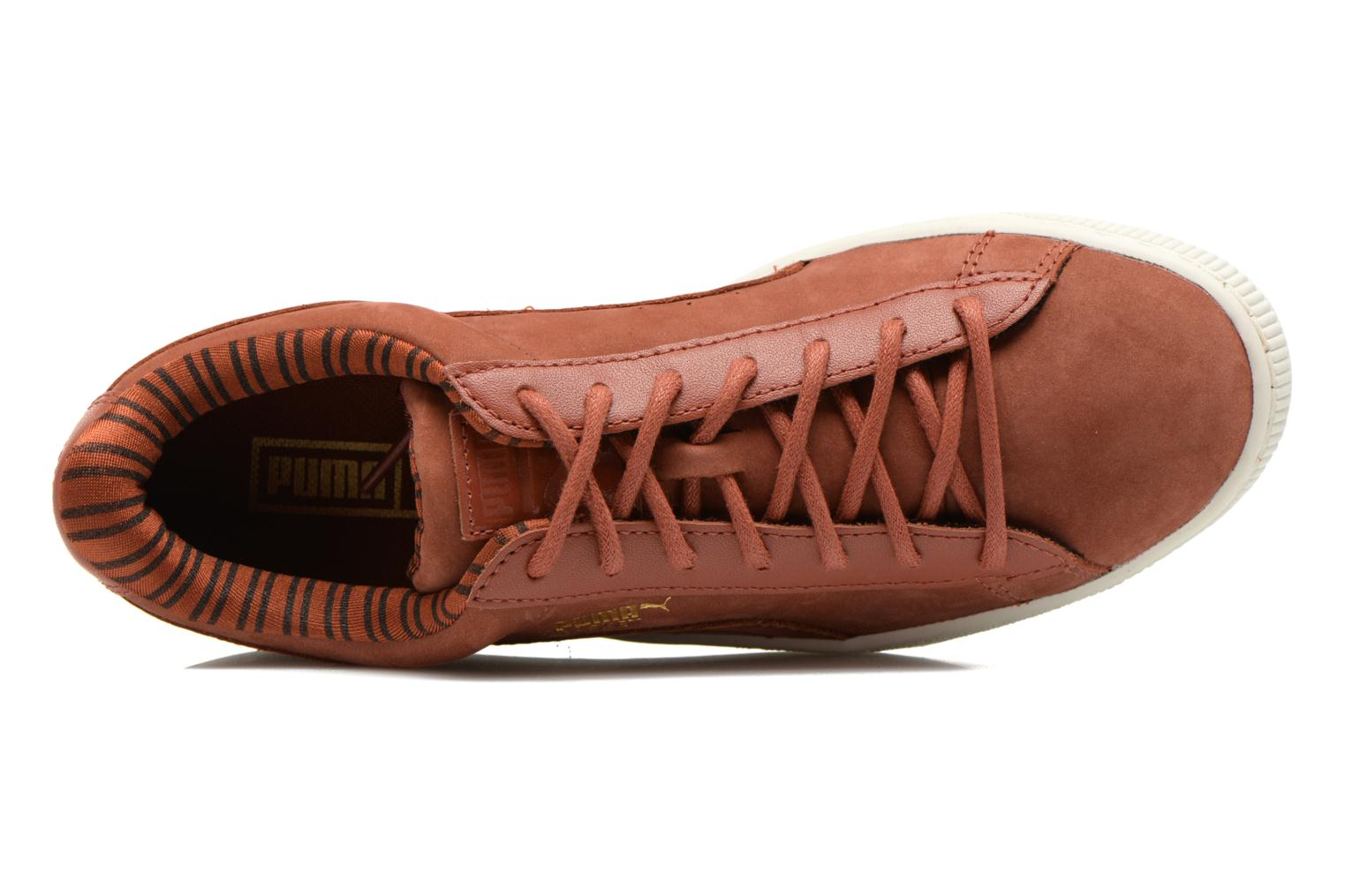 Trainers Puma Basket Classic Citi Brown view from the left