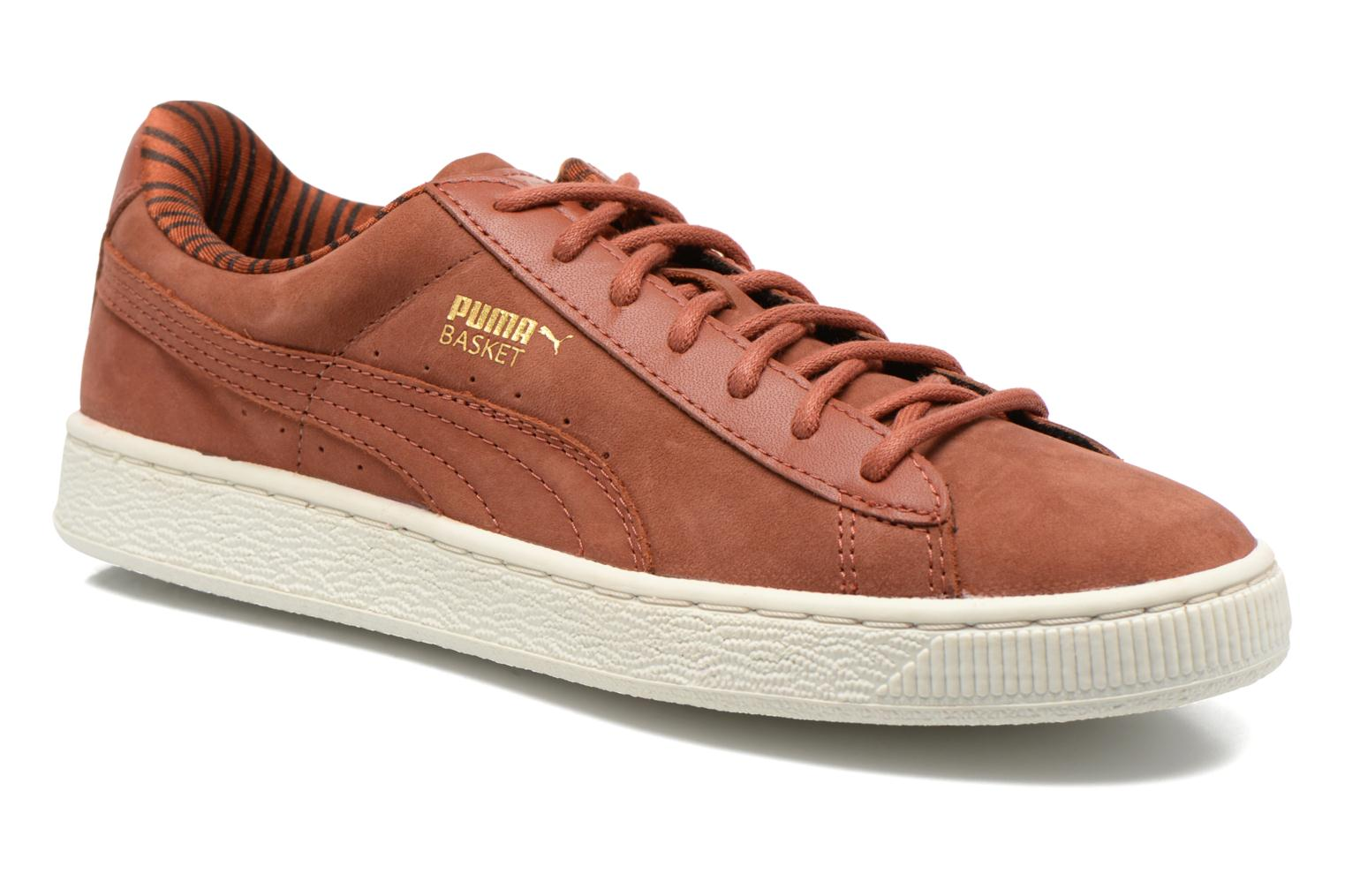 Trainers Puma Basket Classic Citi Brown detailed view/ Pair view